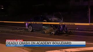CSPD say recklessness and alcohol are contributing factors in fatal accident