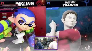 Beck (Inkling) vs Papa Ewan (Wii Fit) - Paragon 4 Ultimate Singles