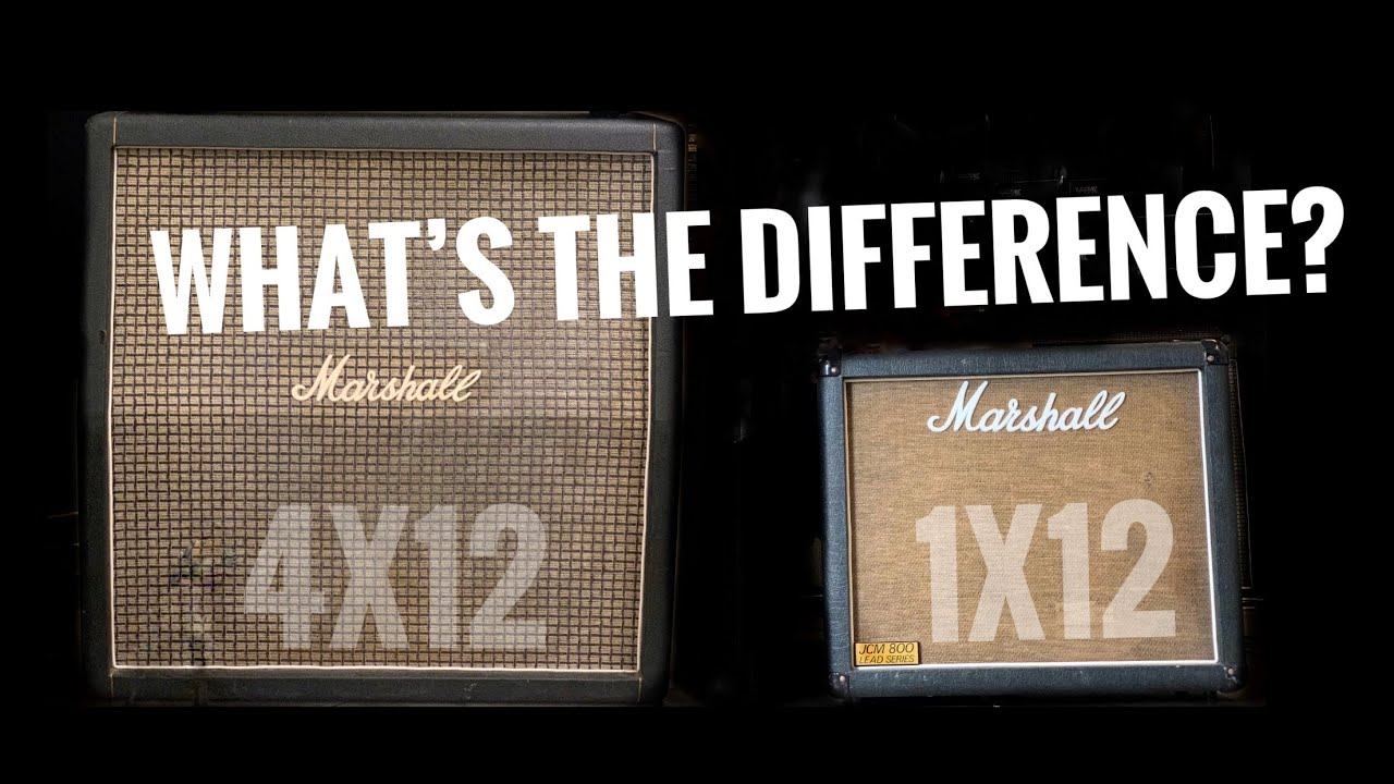 Download The surprising reason why your 4x12 sounds bigger than your 1x12!