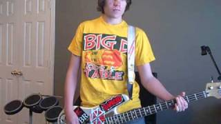 Me First and the Gimme Gimmes - Take It On The Run bass cover