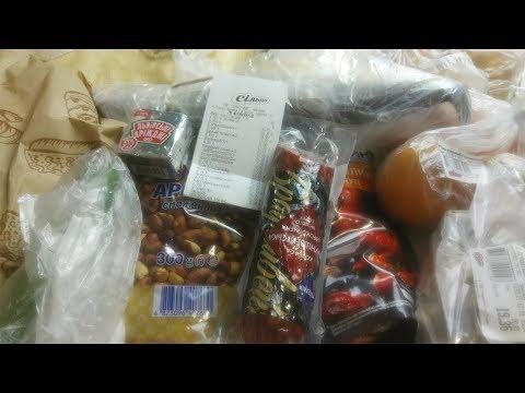 Продукты с Базара и из Супермаркета.