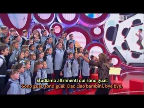 Bye Bye, Ciao Ciao - Lo Zecchino d'Oro 2011 - HQ con sottotitoli