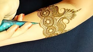 Gorgeous Bridal Mehndi Design | Simple Traditional Mehndi for bride | 2018
