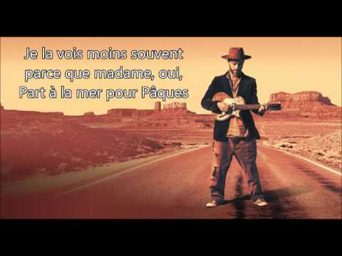 Christophe Maé  -  La Parisienne (Lyrics/Paroles)