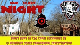 Ghost Hunt at Lockhouse 25 Scary Paranormal Investigation - Part 6