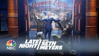 Alan Cumming's Hoover Dam: The Musical - Late Night with Seth Meyers