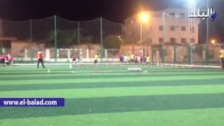 بالفيديو والصور.. 55 ناشئاً في مدرسة كرة القدم بمركز شباب طور سيناء