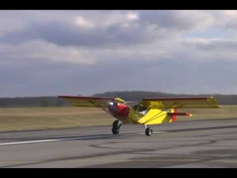 Zenith STOL CH 701 powered by the Jabiru 2200 engine (85-hp)