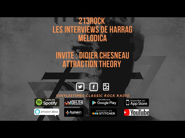 213Rock Harrag Melodica Interview with Attraction Theory Didier Chesneau