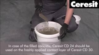 Systém Ceresit PCC na opravu betonu