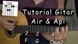 Belajar Gitar (Air dan Api - Naif)
