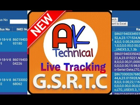 Track GSRTC Buses*Now not working