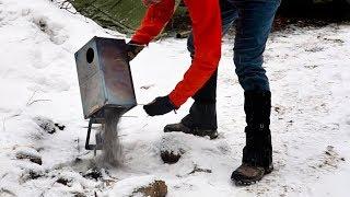 Tent Stove Break Down: Take Apart Titanium 3W Wood Stove