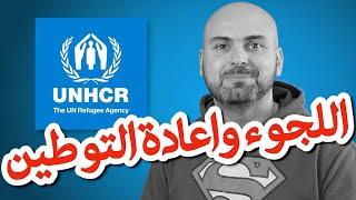 ما هي معايير الامم المتحدة لحقوق اللاجئين بالنسبة لاعادة التوطين؟
