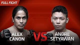 [HD] Alex Canon vs Andre Setyawan || One Pride FN #30