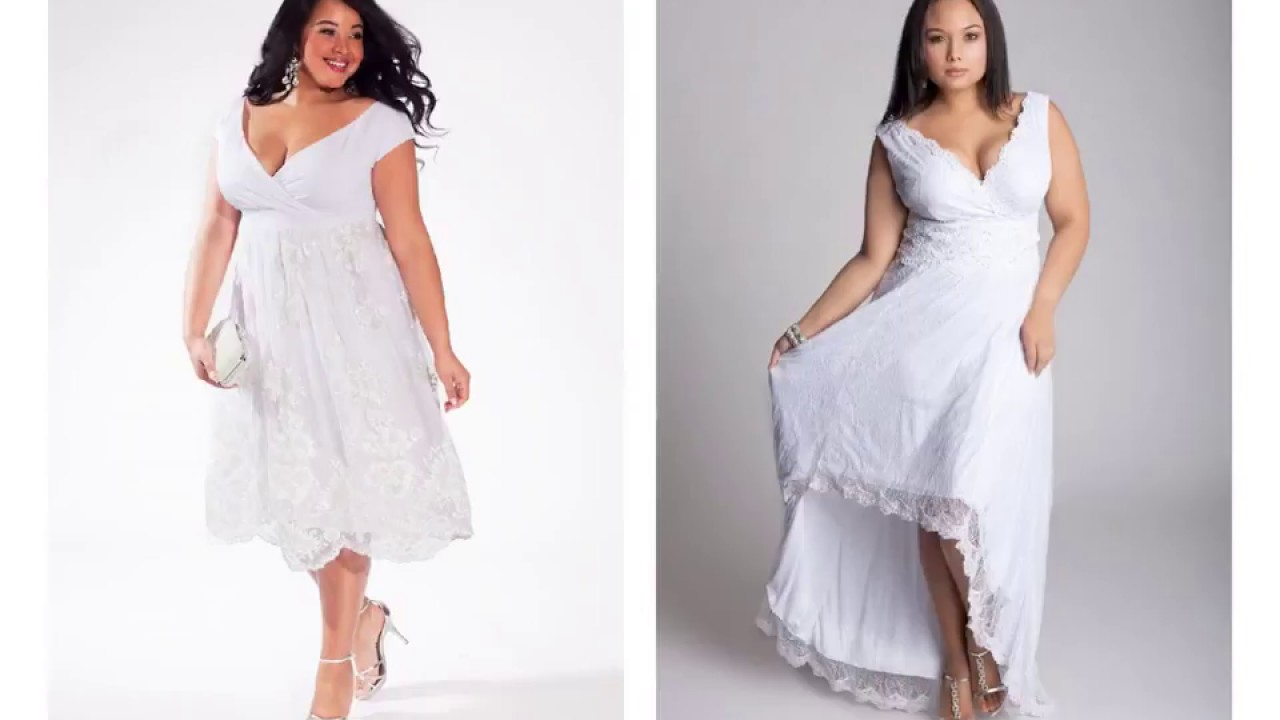 Plus size Short Country Wedding Dresses - YouTube