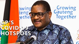 Gauteng Premier David Makhura on Friday said the province had recorded its biggest jump in COVID-19 infections over the past seven-day period. The province now has 4,839 infections, with 2,527 of them active cases. Makhura mapped out Gauteng's hoptspots and number of active cases in each area.