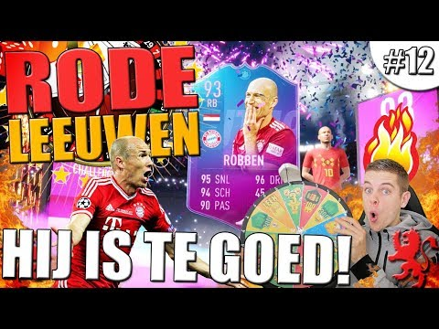 93 ROBBEN IS TE GOED VOOR FIFA!! RODE LEEUWEN #12 thumbnail
