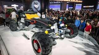 Life-Sized LEGO Batmobile!   What's Trending Now!