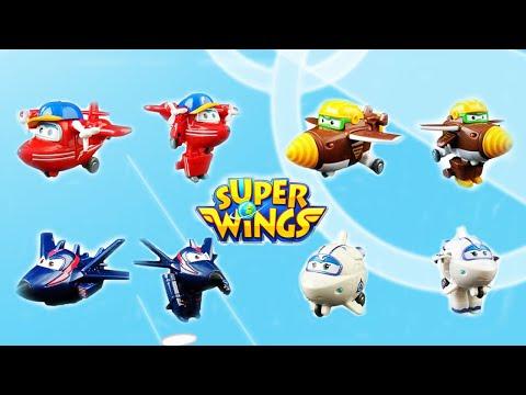 Распаковка Супер Крылья Джетт и его друзья, новые герои! Super Wings!