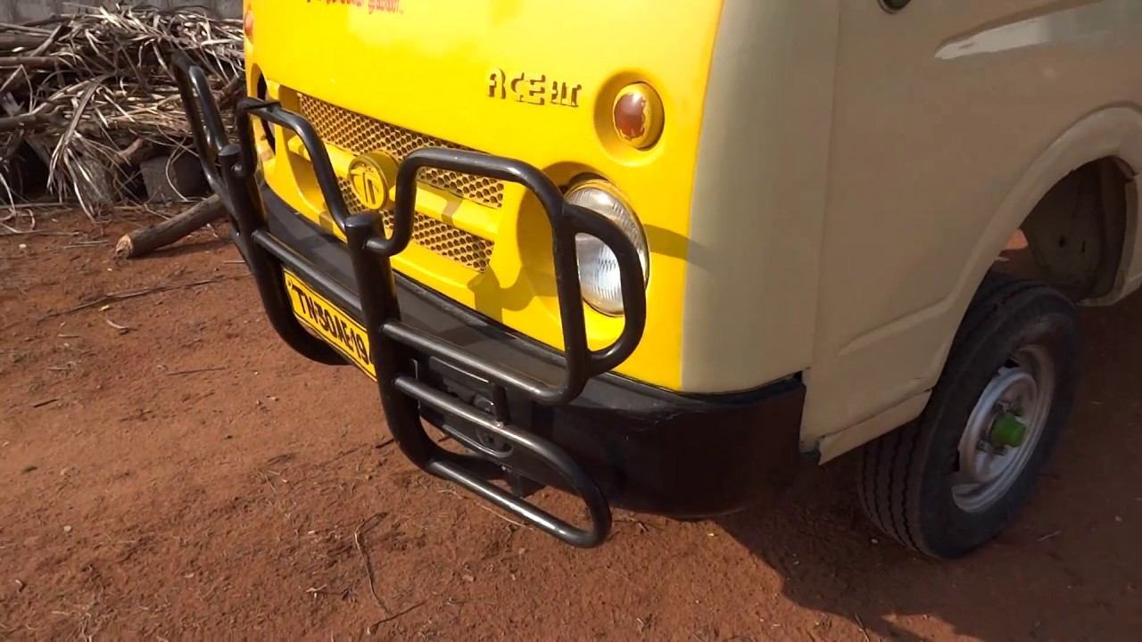 how to start tata ace ht diesel dried condition emergency use to pampas after start engine  [ 1280 x 720 Pixel ]