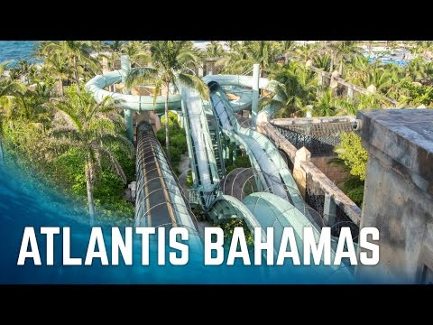 All Big Water Slides at Atlantis Paradise Island | Nassau, Bahamas