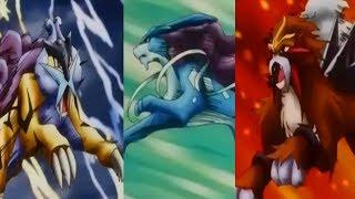 Raikou/Entei/Suicune 「AMV」 Natural ~ Imagine Dragons