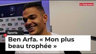 Coupe de France. L'interview de Ben Arfa après la victoire du Stade Rennais