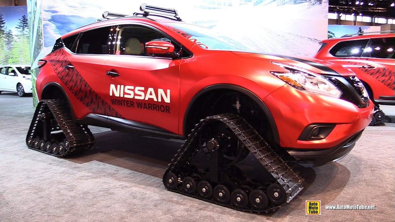 Perfect 2016 Nissan Murano Winter Warrior  Exterior And Interior