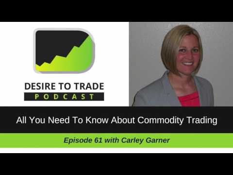 Desire To Trade Podcast 061: All You Need To Know About Commodity Trading - Carley Garner