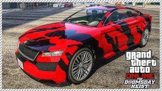 The Worst Car in Doomsday Heist DLC (UBERMACHT REVOLTER CLASSIC HIDDEN UNRELEASED CAR CUSTOMIZATION)