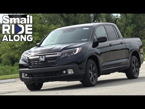 2019 Honda Ridgeline Black Edition AWD - Smail Ride Along - Test Drive