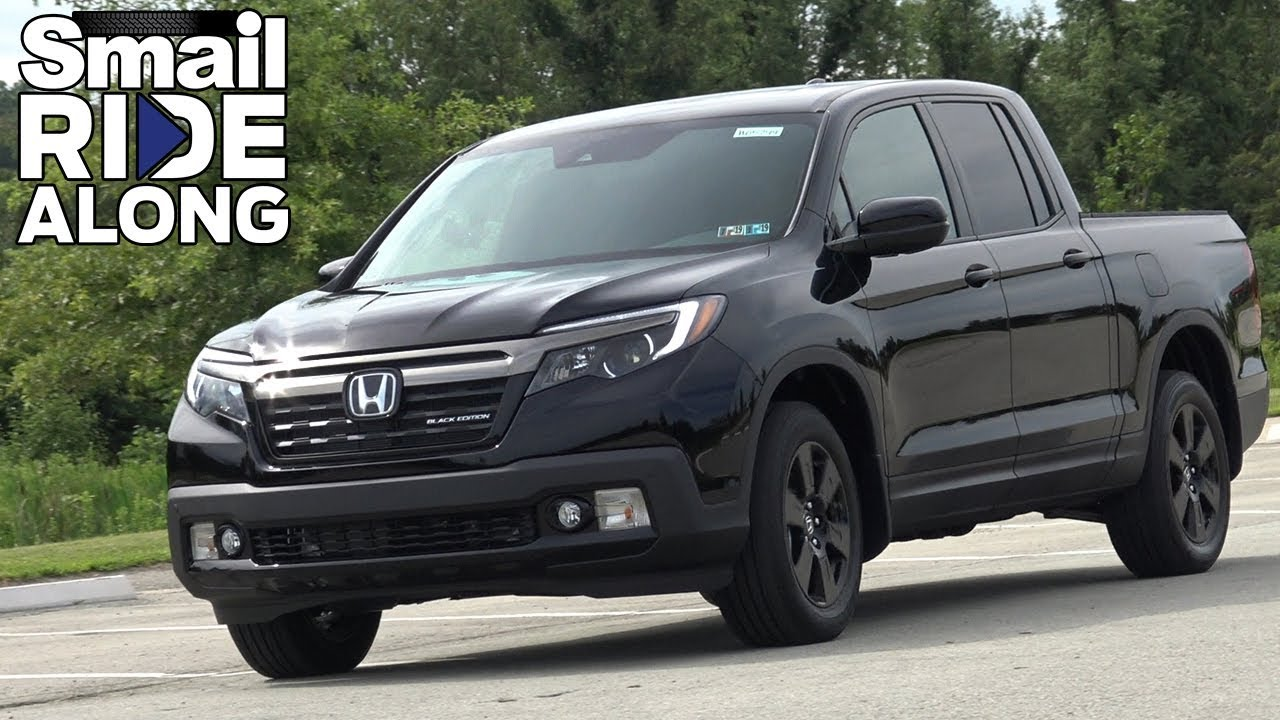 2019 Honda Ridgeline Black Edition Awd Smail Ride Along Test Drive