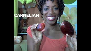 Carnelian Crystal My Creativity & Say Yes to Opportunities Gemstone!