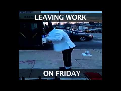 Leaving Work On A Friday Like By Anthony Lloyd Cooper
