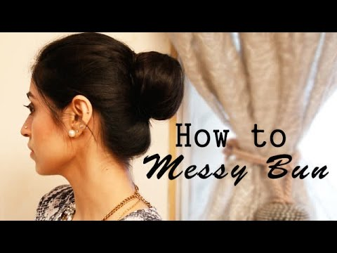 How To Messy Bun The Popular Hairstyle Trend Youtube