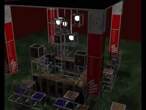 presentazione stand caffè - industrial design