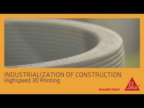 Sika Highspeed 3D Printing