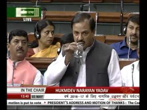 Speaking in the Lok Sabha