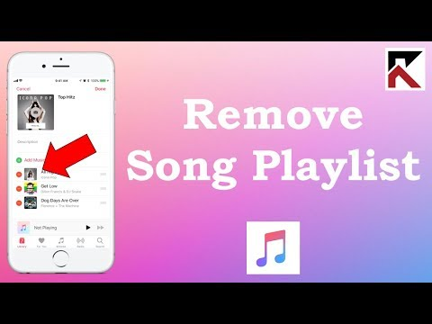 How To Remove Songs From A Playlist Apple Music