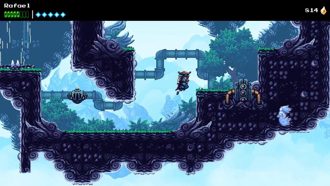 Let's Play : The Messenger - #24 (Elemental Skyland) - YouTube