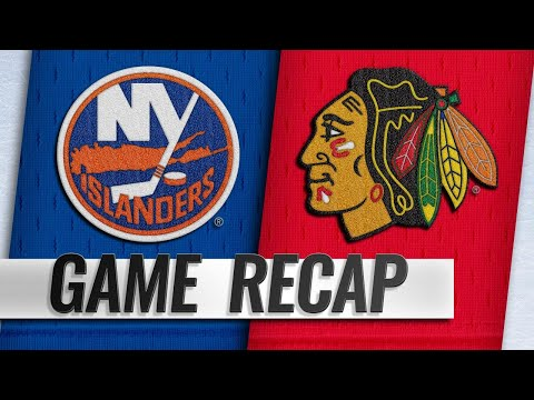 Toews, Kane lead Blackhawks to SO win over Islanders