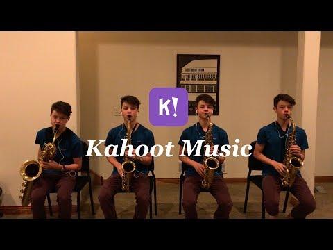 Kahoot Music Saxophone Quartet