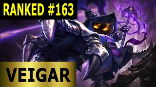 Veigar Mid - Full League of Legends Gameplay [German] Let