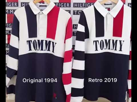 Vintage Tommy Hilfiger Rugby Worn By Snoop Dogg in 1994 SNL vs 2019 Tommy Jeans Comparison Video