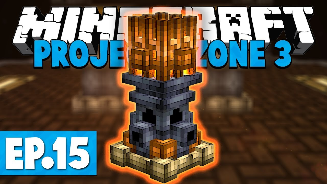Minecraft Project Ozone 3 | EMBERS! #15 [Modded Skyblock]
