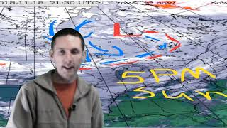 Sun Nov 18 2018 Snowsquall warning ended, here's a summary...