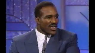 1991 Evander Holyfield interview (Arsenio Hall Show)