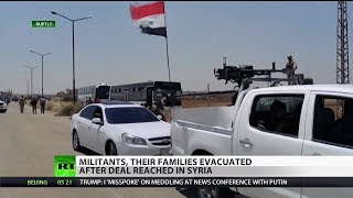Syrian Liberation: Militants Evacuated After Deal Reached