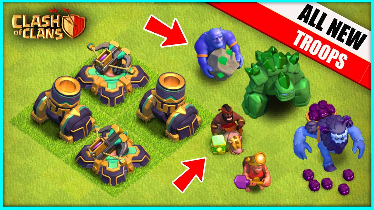 OMG... THE NEW UPDATE! ▶️ Clash of Clans ◀️ EVERY NEW TROOP, OVERPRICED DEFENSE, AND MORE
